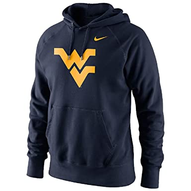 a80d64afdca Amazon.com  Nike Men s West Virginia Mountaineers Logo Hoodie (Small ...
