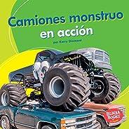 Camiones monstruo en acción (Monster Trucks on the Go) (Bumba Books ® en español — Máquinas en acción (Machine