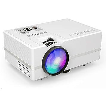 Proyector, wonnie vídeo proyector (1800 lúmenes LCD Multimedia ...