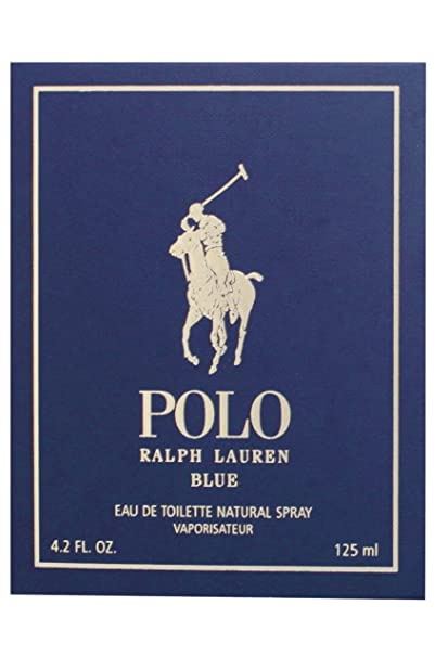 Ralph Lauren Polo azul Men 125 ML edt aroma fragancia Spray de ...