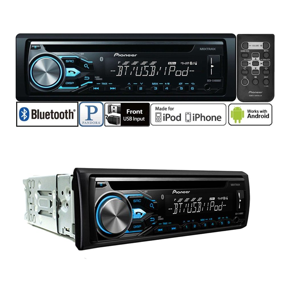 Pioneer Car Stereo Pandora Free Download Wiring Deh Diagram X6600bs Amazon Com Radio Bluetooth Cd Player Dash