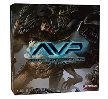 Alien vs Predator: The Hunt Begins 2nd Edition - English
