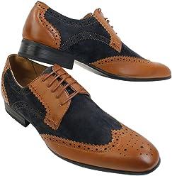 galax , Chaussures de ville à lacets pour homme c0437cbf7c26