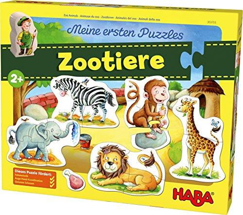 Meine ersten Puzzles - Zootiere ()