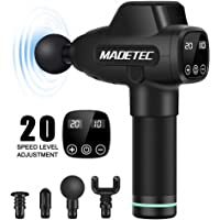 Madetec 20-Speed Deep Tissue Percussion Muscle Massage Gun