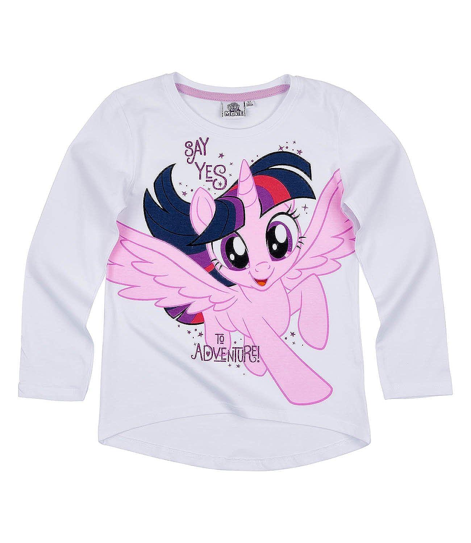Hasbro My Little Pony - Maglia a Manica Lunga - Ragazza
