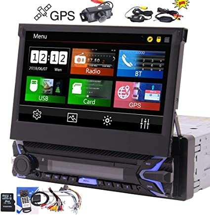 "Kamera Touchscreen Bildschirm Bluetooth USB SD 1DIN Radio MP5 MP3 7/"" Autoradio"