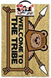 Star Wars Welcome to The Tribe Door Mat, Coir, Brown, 60 x 40 x 1.5 cm