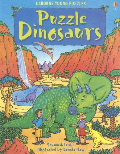 Puzzle Dinosaurs (Young Puzzles Series)