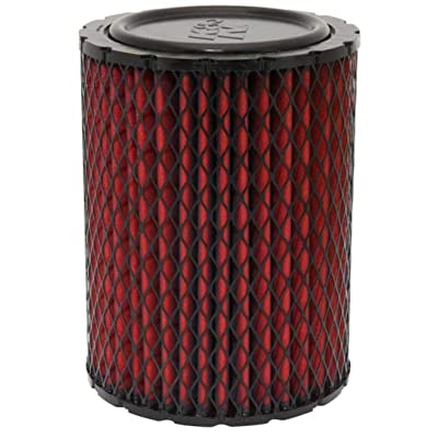 K&N Engine Air Filter: High Performance, Premium, Washable, Industrial Replacement Filter, Heavy Duty: 38-2031S: Automotive
