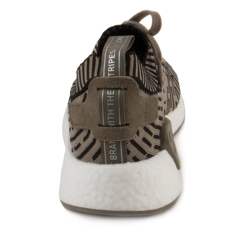 Adidas Hombre Nmd_r2 Primeknit Oliva Tela Verde fBckw
