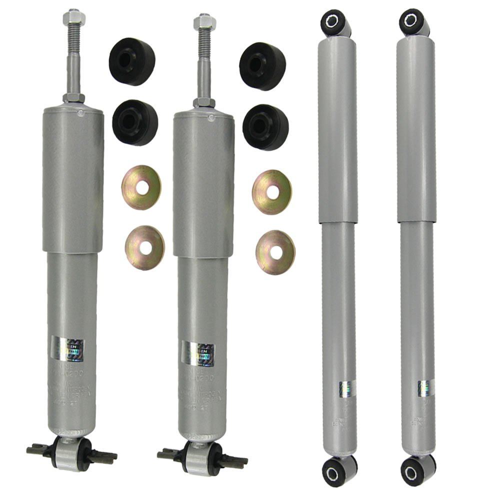 Front and Rear Shocks for 02-08 Dodge Ram 1500