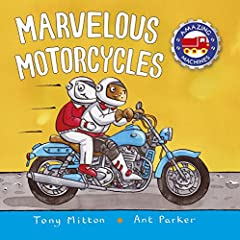 Marvelous Motorcycles follows the animal gang as they become motorcyclists cruising down the street. Join them as they learn how to ride a motorcycle and what different types of motorcycles can do. Each page is filled with details that...