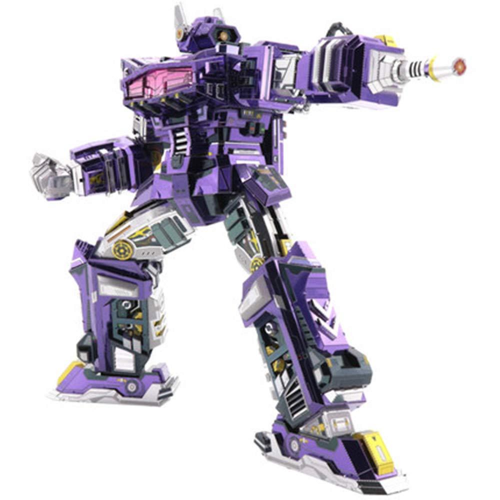 MQKZ Shockwave Transformers d Rompecabezas Tridimensional de Metal ...