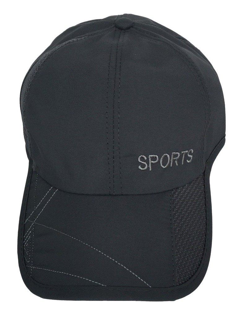 Smile YKK Men Women Sport Outdoor Running Baseball Trucker Sun Mesh Hat Cap Grey