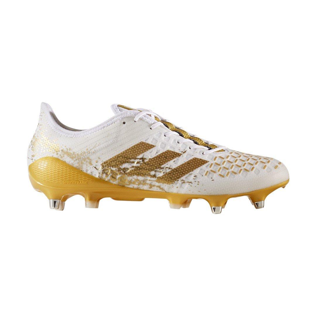 Blanc (Ftwbla Dormet Ftwbla) adidas Prougeator Malice Control SG, Chaussures de Rugby Homme 40 2 3 EU