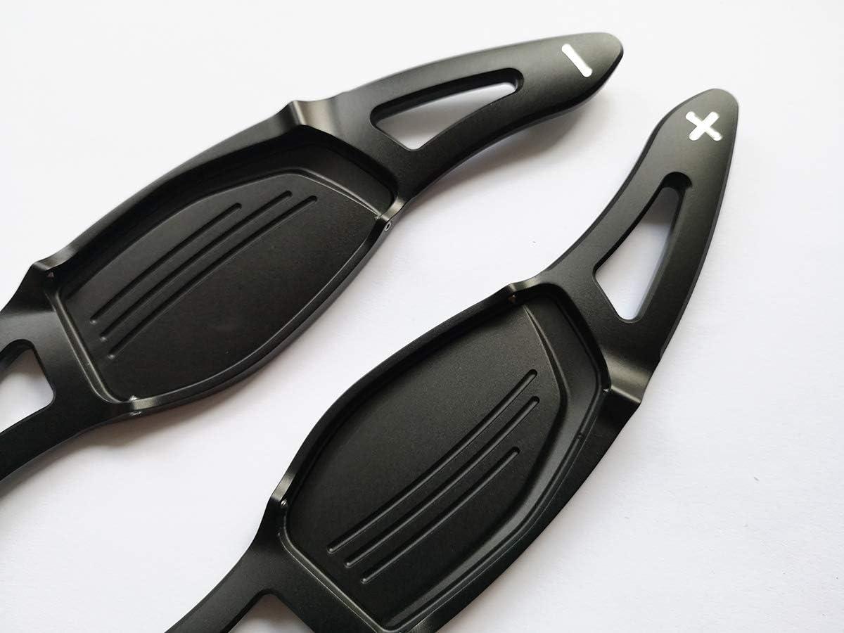 Schwarz Pinalloy Metall Lenkrad DSG Paddle Shifter f/ür neue R8 RS3 RS4 RS5 TT RS