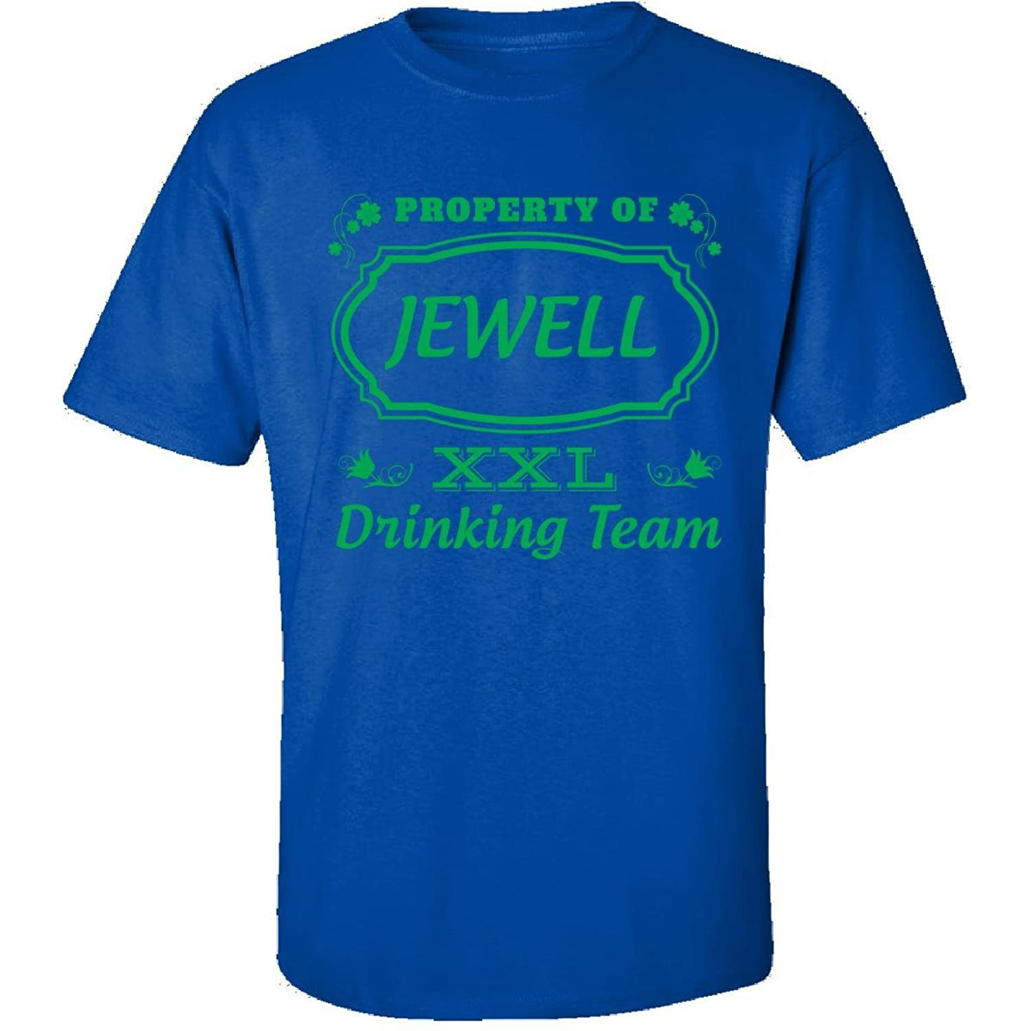 Property Of Jewell St Patrick Day Beer Drinking Team - Adult Shirt