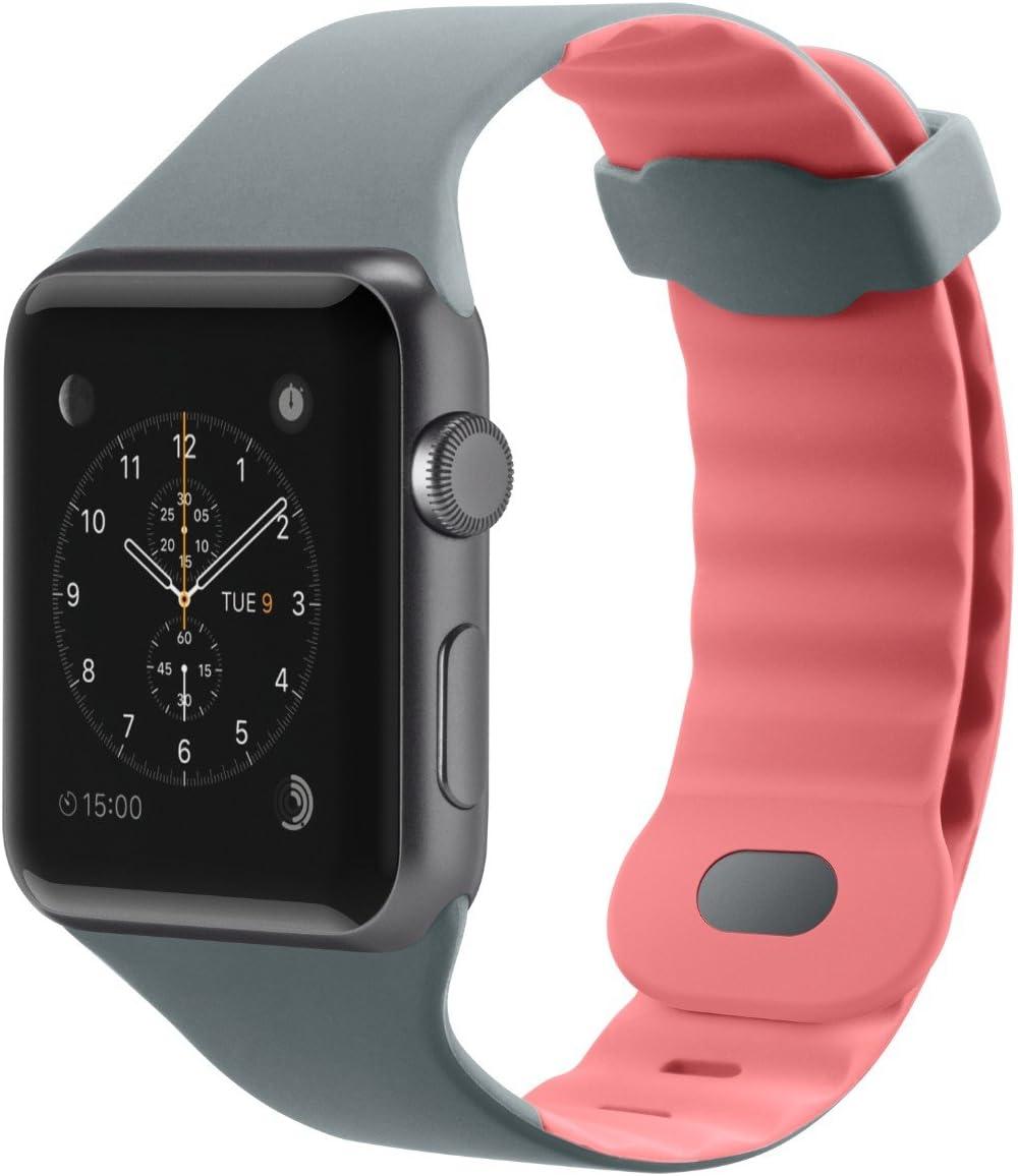 Belkin F8W729btC01 Sport Band for Apple Watch Series 4, 3, 2, 1, /40 mm, Carnation Pink, 38 mm