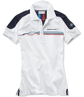 42ce0160d8d  Regular imported goods  BMW MOTORSPORTS fan polo shirt Ladies White x team  Blue XL
