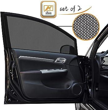 Alfheim 2 Stück Auto Seitenfenster Schatten Für Autofenster Sonnenschutz Für Baby Uv Schutz Für Kinder Geeignet Für Mehr Als 99 Der Autos Und Suvs Abdeckung Voller Fenster Auto