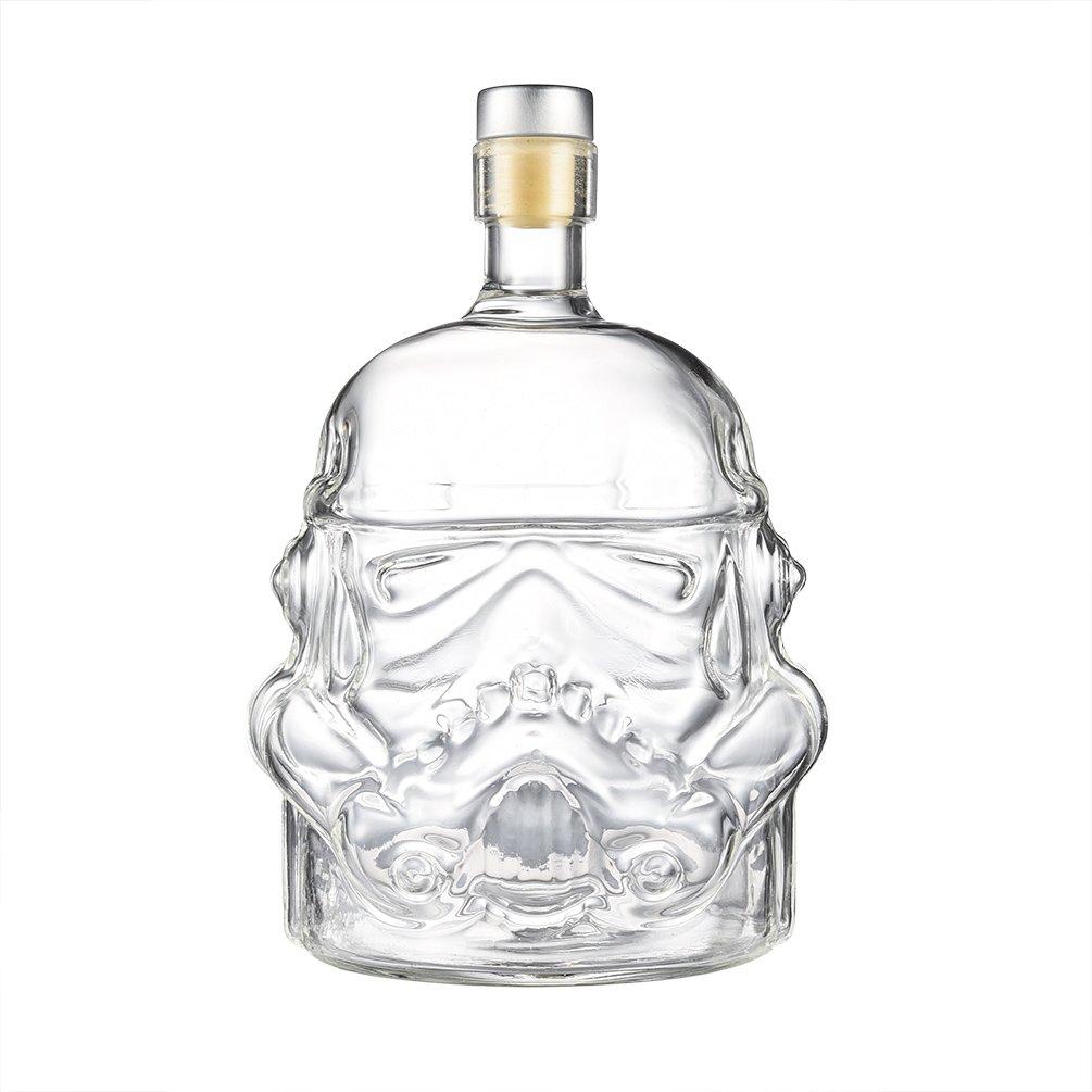 最先端 Uarter Unique Uarter Whiskey Whiskey FlaskカラフェクリスタルデキャンタStormtrooperガラスボトル、最適な用途Whiskey Unique、Vodkaとワイン、透明色 B078JMFRP4, 【正規品】:2df288ad --- a0267596.xsph.ru