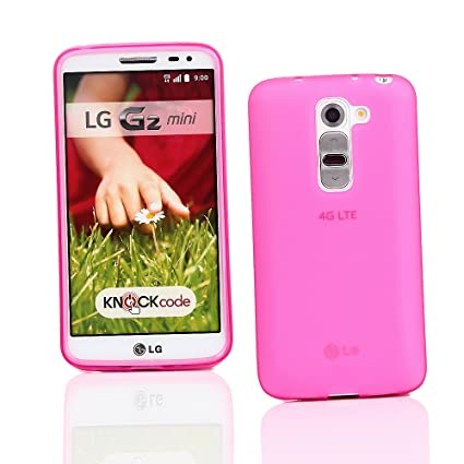 Amazon.com: Kit Me Out US TPU Gel Case for LG G2 MINI - Pink ...