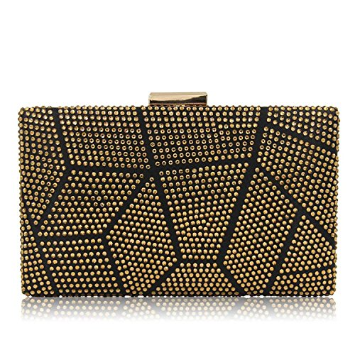 Clutches Purses Clutch Party Bag Female ONWomen Ladies Rising Wedding Bags Gold Evening E5Fqn6v