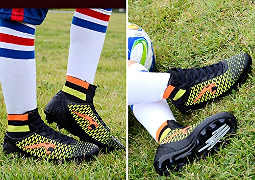 Black No Shoes Cleat Cleat Town Performance High 66 Football TF Top Soccer Ground Sneakers AG Firm ag RRWO6vxn