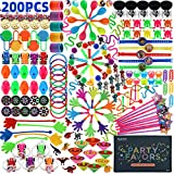 Amy&Benton 200PCS Carnival Prizes for Kids Birthday Party Favors Prizes Box Toy Assortment for Classroom