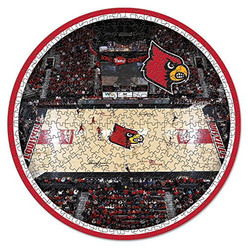 Cardinals Puzzle 500 Piece - NCAA Louisville Cardinals Stadium Puzzle 500-Piece