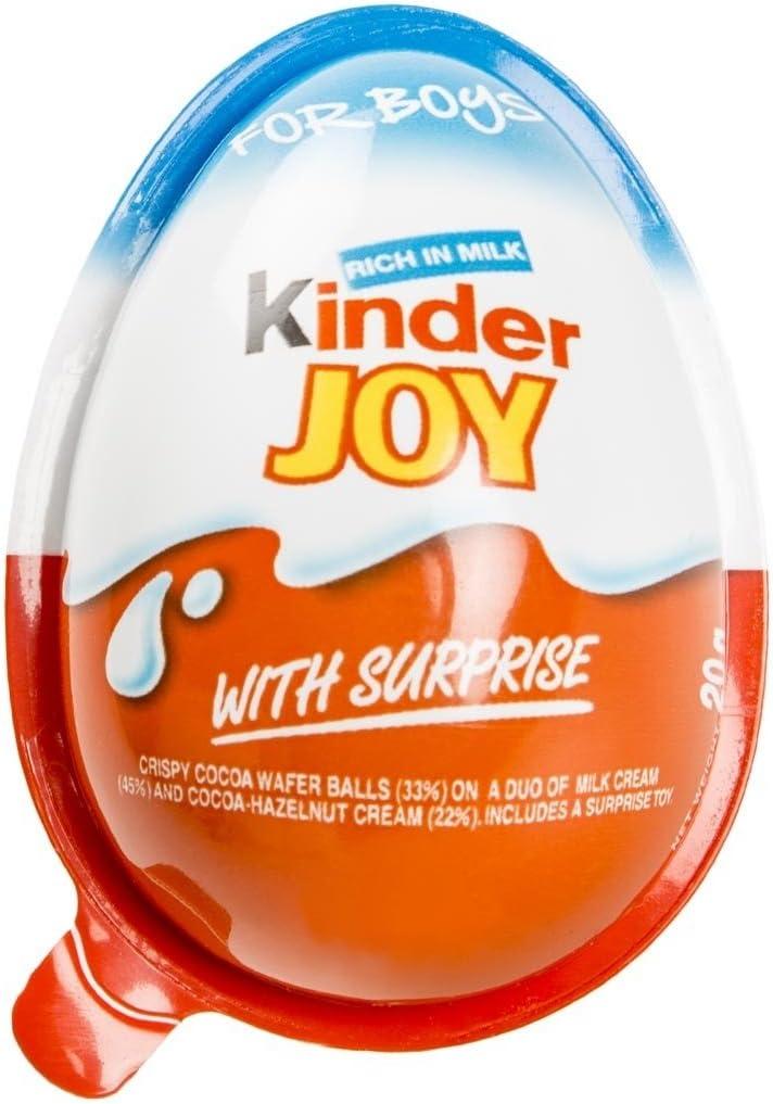Kinder Joy - Lote de 3 huevos Kinder con juguetes sorpresa para ...