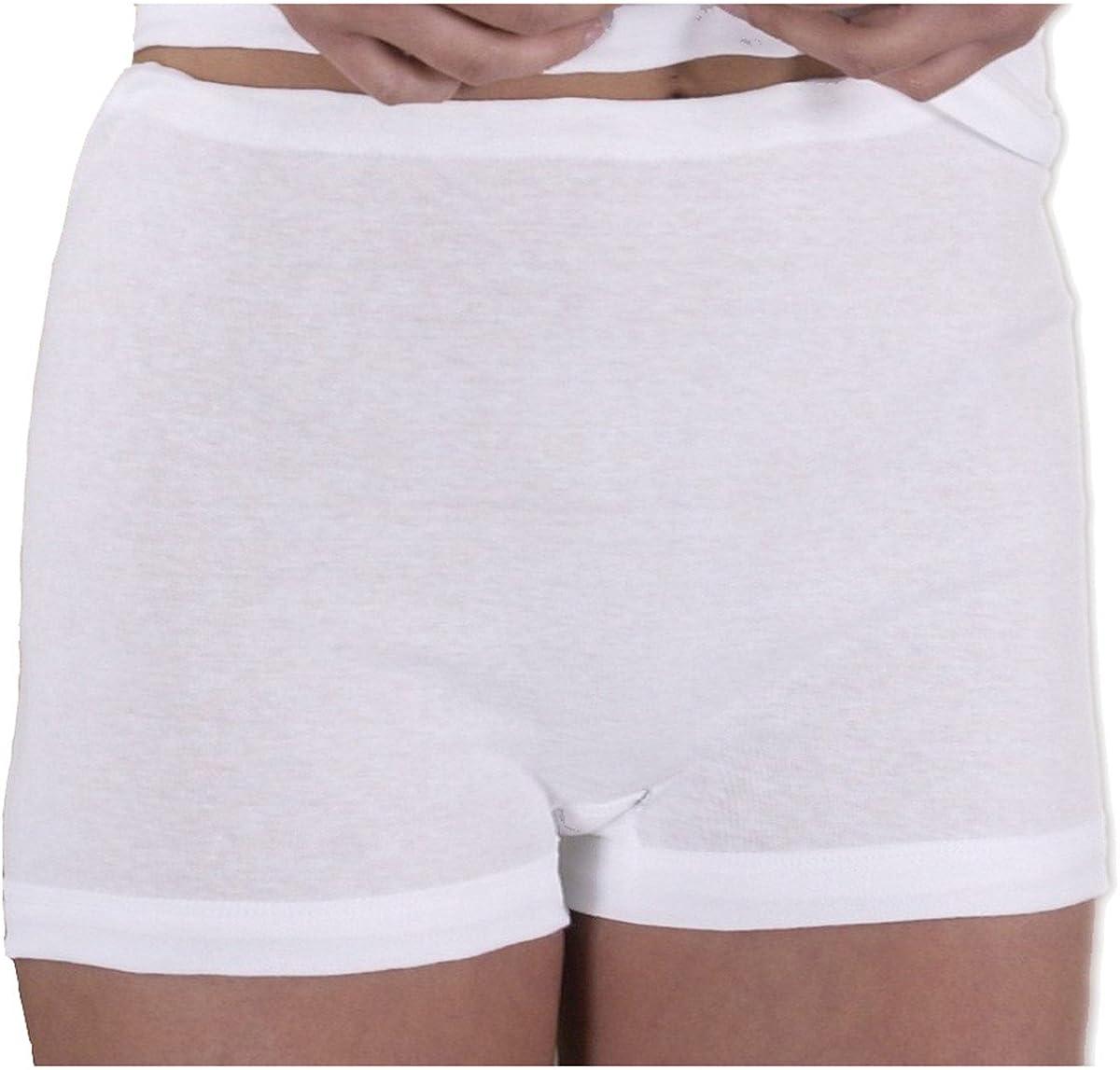 HERMKO 1650 3-Pack Ladies Full-Brief Knickers in 100/% Cotton