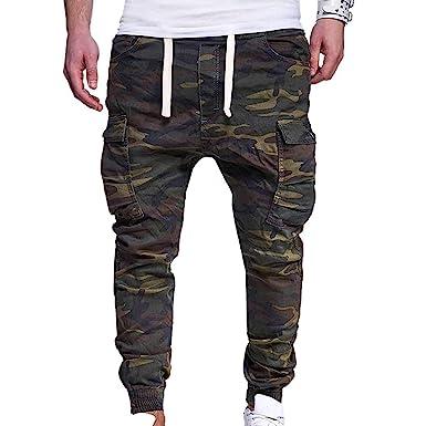 Lannister Fashion Pantalones Militares De Los Hombres con ...