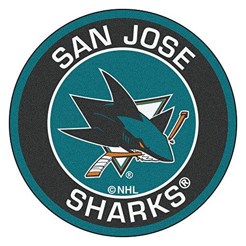 FANMATS 18885 NHL San Jose Sharks Roundel (Mat San Jose)