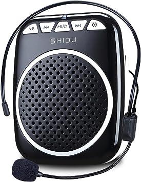Recbot Amplificador de Voz portátil Diadema con micrófono Cable Formato de Audio MP3 para Profesores guías presentaciones Entrenadores promociones Cantar Etc: Amazon.es: Electrónica