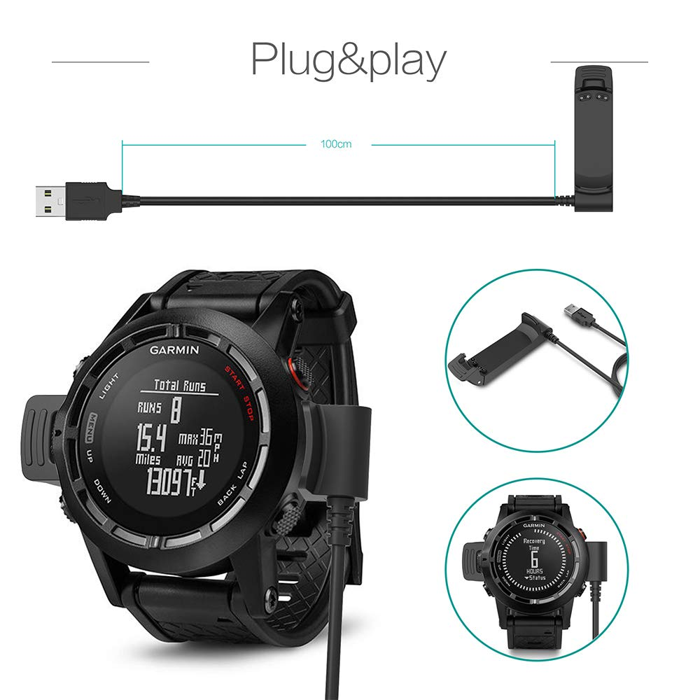 Amazon.com: TUSITA Charger for Garmin Fenix, Fenix 2, D2 ...