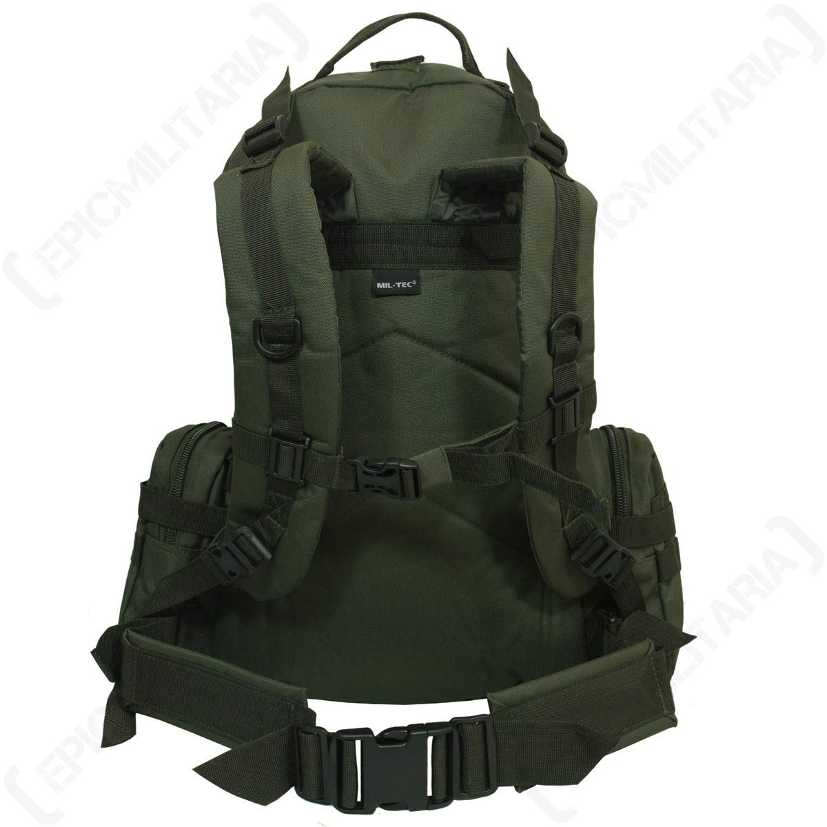 Mil-Tec Olive Green MOLLE Defense Pack