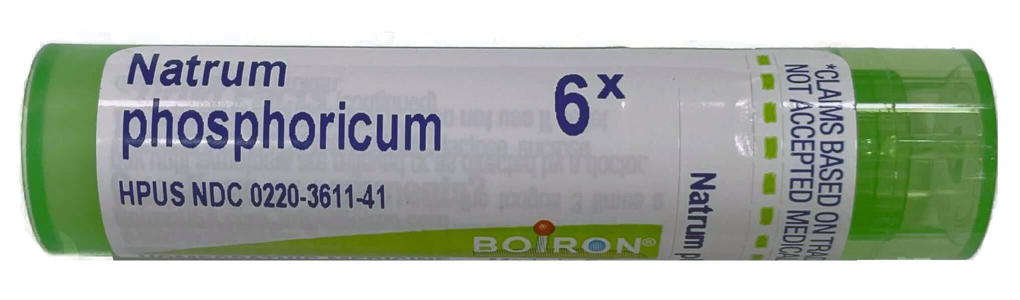 Boiron Natrum Phosphoricum 6X, 80 Count