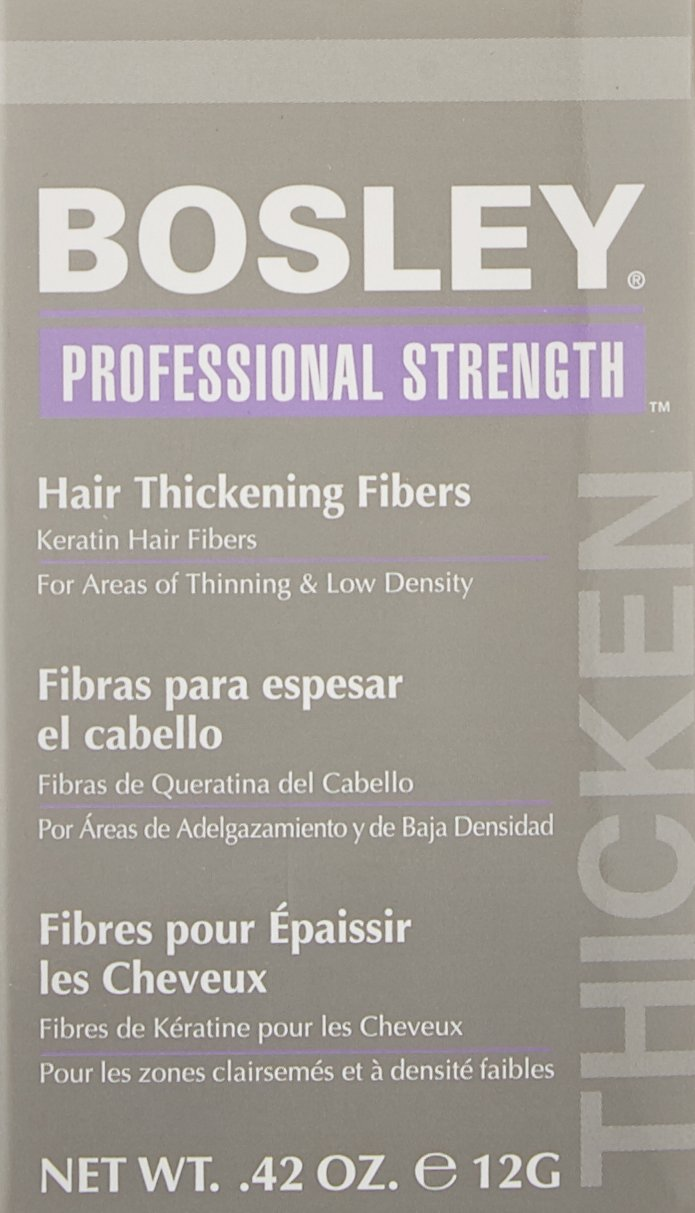 com bosley professional strength hair thickening fibers com bosley professional strength hair thickening fibers gray 0 42 ounce beauty