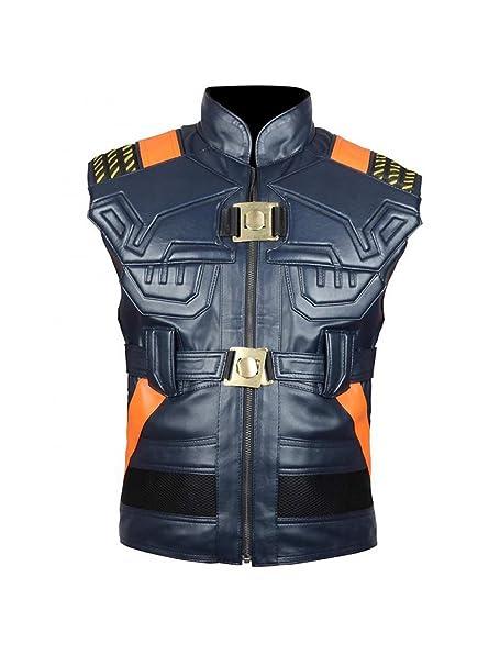 9d14821d4365e6 Black Panther Erik Killmonger Michael B Jordan Vest - New Arrival (XS)