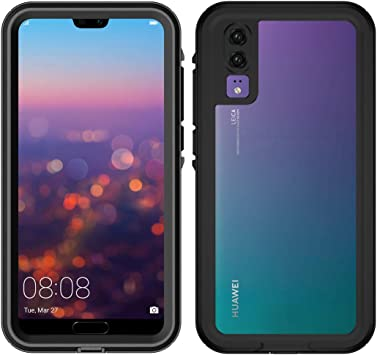 LifeePro Huawei P20 Funda Impermeable, IP68 Certified Outdoor A ...
