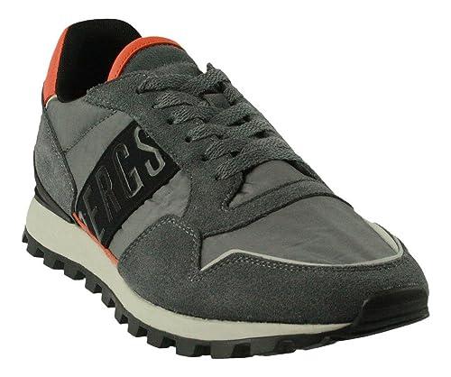 Bikkembergs Sneakers Fender-Er 947 Uomo Mod. BKE109093 43: Amazon.es: Zapatos y complementos