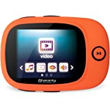 Sports 8GB MP3 MP4 Player with Large Screen, FM Radio, view photo and video, E-book reading, Recording (Support up to 64GB) [with earphone] - Orange