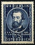 Austria Postage Stamp %2D Karl Milloecke