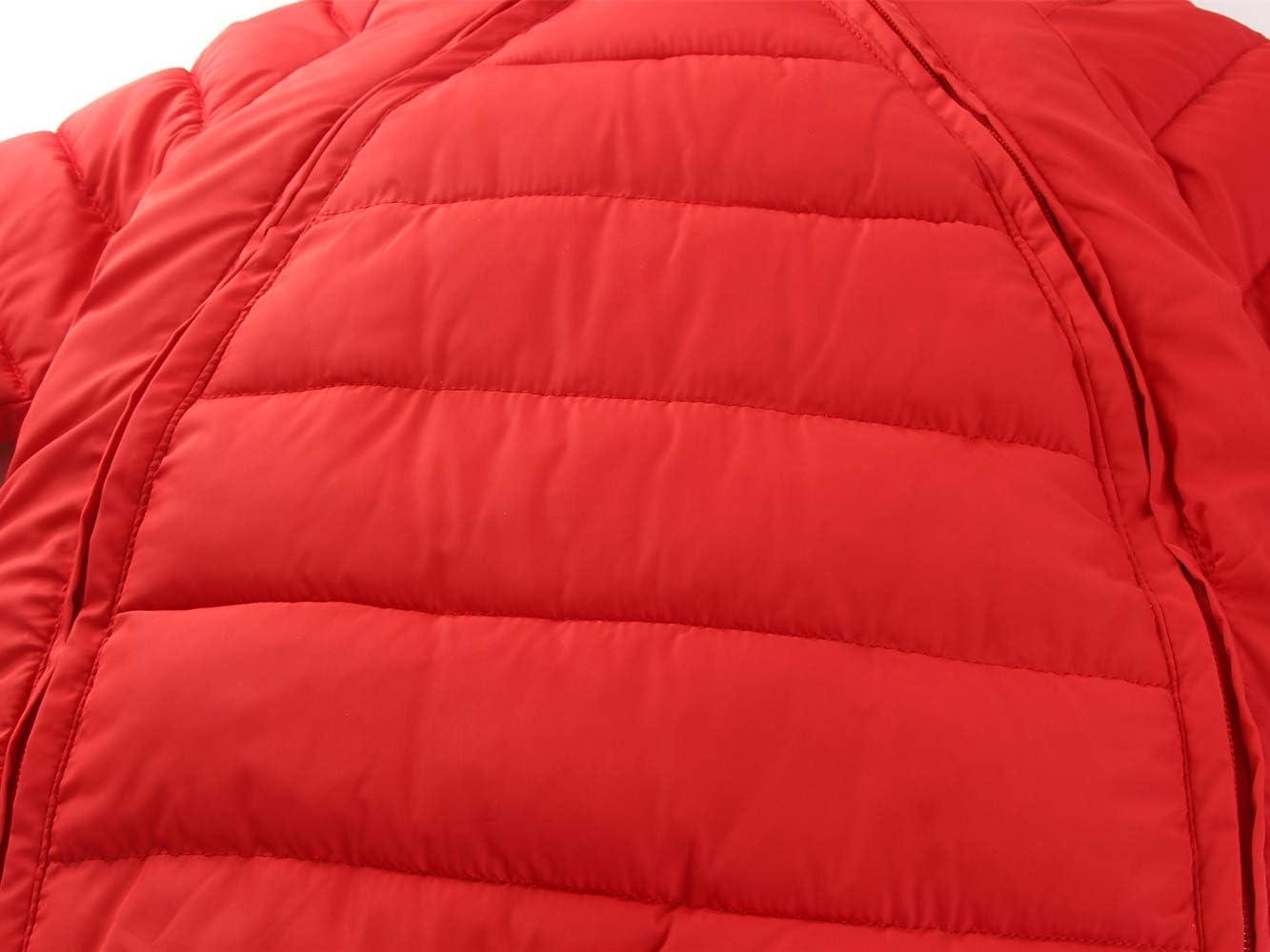 Combinaison de Neige B/éb/é Hiver Barboteuses /à Capuche Duvet Manteau Doudoune Jumpsuit 6-12 Mois