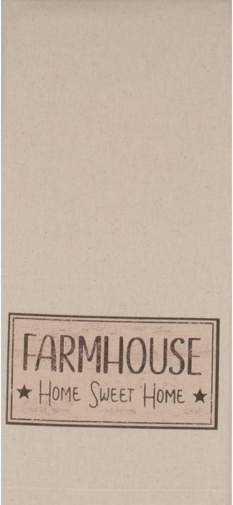 Home Collections by Raghu Osenburg Farmhouse Tea Towel 2pc Set, 2 Piece