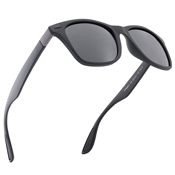 6d07b0d49886 Mens Sunglasses Polarised UV Protection Suitable for Cycling Traveling  Driving Fishing (Black): Amazon.co.uk: Clothing