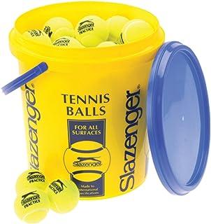 Slazenger Tennis Sport Indoor/Outdoor gioco 5dozzina palline e secchio