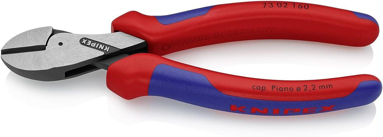 KNIPEX 73 02 160 X-Cut, alicate de corte diagonal compacto de gran multiplicación, 160 mm: Amazon.es: Bricolaje y herramientas